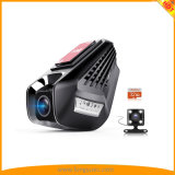 Dash Cam WiFi Dual Cameras 2.0′′ 1296p 170° Wide Angle with Parking Monitor, Loop Recording, G-Sensor, Remote Control