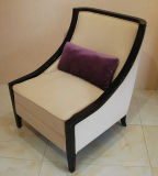 Wooden Single Seat Sofa Chair/Leisure Accent Chair for Hotel Lobby