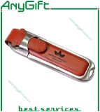 Leather USB Flash Drive with Embossed Logo 26