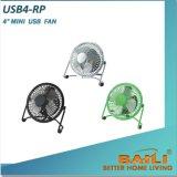 """Portable Mini 4"""" USB Fan, Desk Fan"""