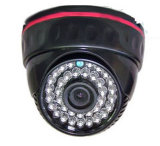 Indoor CCD Car Camera, Front View CCTV Camera, 24PCS LEDs