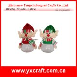 Christmas Decoration (ZY16Y261-1-2 17CM) Handmade Felt Christmas Ornaments