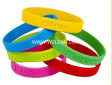 Promotional Silicone Bracelet with Debossed Logo