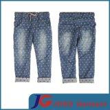 Manufacture Kids Dotted Denim Wear Jean Trousers (JC5165)