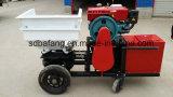 Screw Type High Pressure Diesel Cement Spraying Plaster Machine