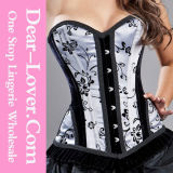 Women Sexy Latex Lingerie Corset
