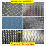 1050 1060 1100 3003 5052 5754 6061 Embossed Aluminum Tread Sheet