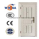Classic Germany New Design of Steel Security Metal Door (W-S-14B)
