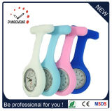 Colorful Silicone Gel Waterproof Nurse Watch Medical Watches Brooch Watches (DC-128)