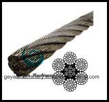 Iwrc 6*37 Galvanized Wire Rope with Diameter 32mm