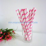 DOT Colorfully Party Paper Straws