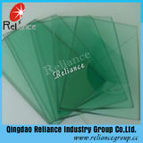 F Green /Light Green Tinted Float Glass with Thickness 4-12mm