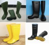 Various Men′s Safety PVC Boots, Men′s Working Boots, Safety Boot