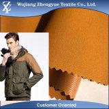 100% Polyester Dobby Waterproof Stretch Jacket Fabric with PU/TPU Lamination
