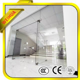 Shandong Factory 8mm 10mm 12mm Low Price Toughened Tempered Glass Partition Door for Hot Sale