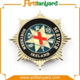 Metal Pin Badge with Soft Enamel