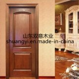 100% Solid Wood Entrance Interior Door with Good Quality