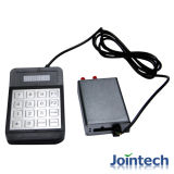 GPS Tracker with Security Keypad for Public Bus Driver Identification Solution