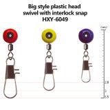 Wholesale New Style Plastic Head Swivel with Interlock Snap