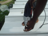 Light Steel Structure Roof Panel Install