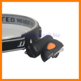 "Mini 40lumens 1watt LED+3LED Head Lamp with 1PC 1.5V ""AA"" Size Battery Filters (LA232)"