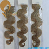 100% Virgin Human Hair Extension Remy Indian Hair Weft