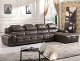 High Quality Leather Sofa, L Shape Sofa Set (882)