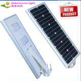 Customized High Quality All-in-One LED Solar Street LED Lighting with PIR Sensor, with Solar Panel