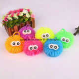 Kids Plastic Toy with Flash Rainbow Ball Big Eyes