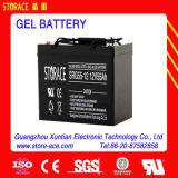 12V 55ah Solar Maintenance Free Gel Battery
