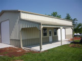 Steel Structure Office Garage Building (KXD-SSB1173)