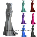 Long Beaded Mermaid Bridesmaid Dresses Party Gowns Wedding Prom Dresses
