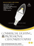 Silver 330deg CREE Chip Scob LED Candle Bulb