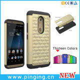 Shockproof Hybird Bling Diamond Phone Case for Zte Axon 7