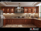 Welbom Simple Solid Wood Kitchen with ISO Standard