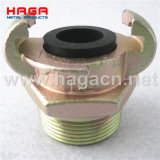 European Type Universal Male BSPT End Air Hose Coupling