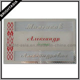 Silver Metal Name Card Name Plate for Promotion Gift (BYH-10376)