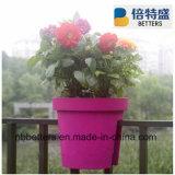 Balcony Planter Plastic Plant Pots Wholesale, Railing Planter, Color PP Plastic Planters