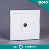 Igoto 1 Gang Satellite TV Wall Socket