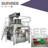 Automatic Rotary Weighing & Packaging Line for Grain