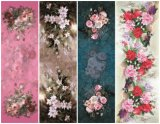 Digital Printed Flower Butterfly Scarf for Lady (C-013)