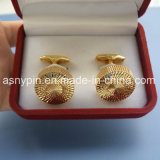 Customized Design Fashionable Metal Gold Cufflinks