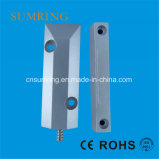 Surface Mounted Polished Aluminum Oki Reed Switch Wired Door Magnetic Contact