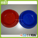 Bone Printing Medim Size Plastic Pet Bowl Pet Product