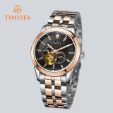 Luxury Skeleton Mechanical Watches High Quality Steel Band 72279