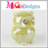 OEM Welcome Exquisite Owl Piggy Bank with Glazing