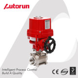 Chinese Wenzhou Manufacturer 3-Piece Explosion Proof Internal Thread Ends Electric Ball Valve