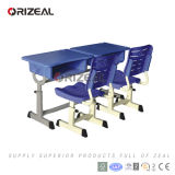 Primary Grades Plastictop Student Desk and Chair Classroom Furniture