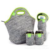 Neoprene Set Package Kit with Lunch Bag Bottle Holder Pouch Case Bag