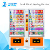 Small Size Drinks and Snacks Combo Vending Machine